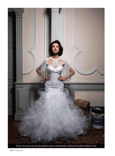 EEditorial da VIP Noivas com Vestidos de Noiva Maison Rafael Freitas