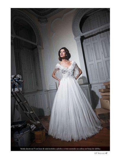 Editorial da VIP Noivas com Vestidos de Noiva Maison Rafael Freitas